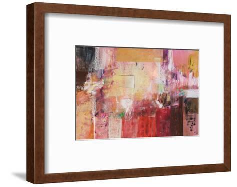 Copper And Red Series 6--Framed Art Print