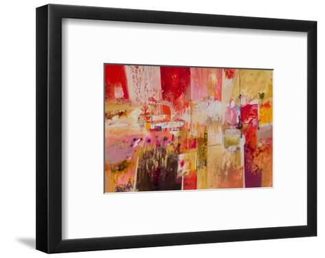 Red And Gold Leaf 4--Framed Art Print