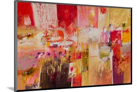 Red And Gold Leaf 4--Mounted Art Print
