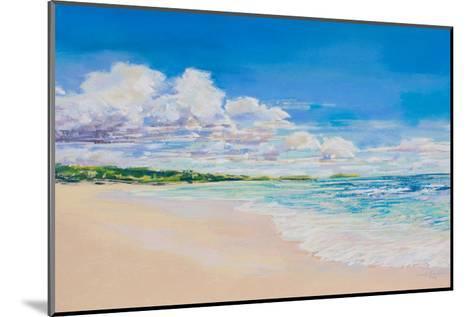 Beach Clouds--Mounted Art Print