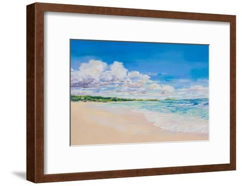 Beach Clouds--Framed Art Print