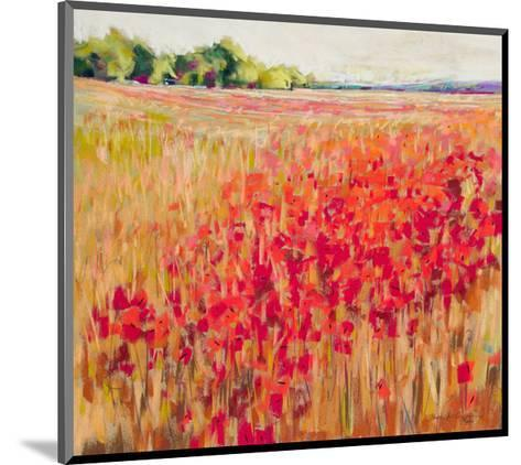 Poppies And Trees VIII--Mounted Art Print