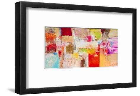 Red And Gold Leaf 3--Framed Art Print