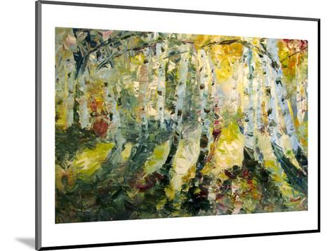 Autumn Aspen--Mounted Art Print