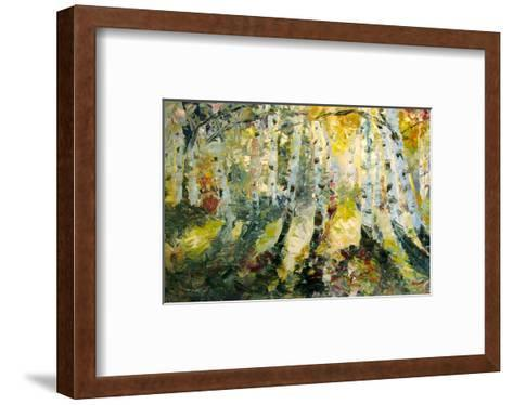 Autumn Aspen--Framed Art Print