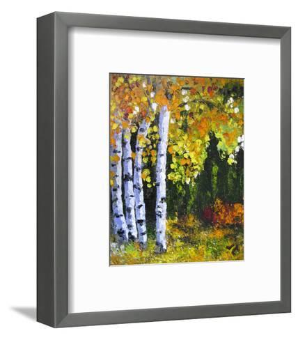 Autumn Aspen II--Framed Art Print