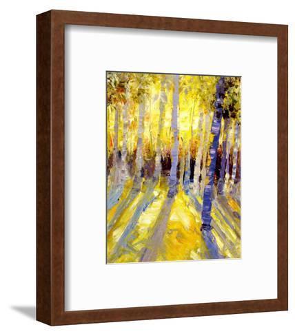 Morning Aspen--Framed Art Print