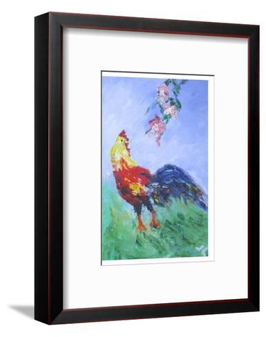 Rooster--Framed Art Print