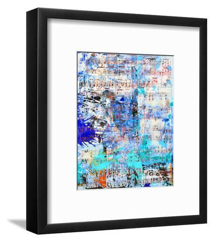 Opus inSaturdayBlue-Parker Greenfield-Framed Art Print