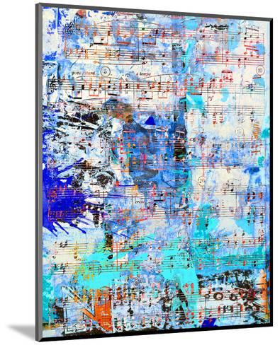 Opus inSaturdayBlue-Parker Greenfield-Mounted Art Print