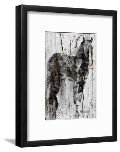 Little Lady--Framed Art Print