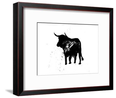 Pamplona Bull IV-Rosa Mesa-Framed Art Print