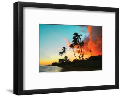 Hawaii Dreaming II HDR--Framed Art Print