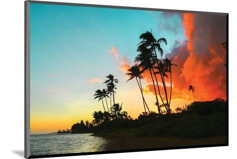 Hawaii Dreaming II HDR--Mounted Art Print