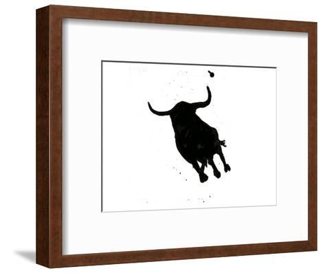 Pamplona Bull I-Rosa Mesa-Framed Art Print