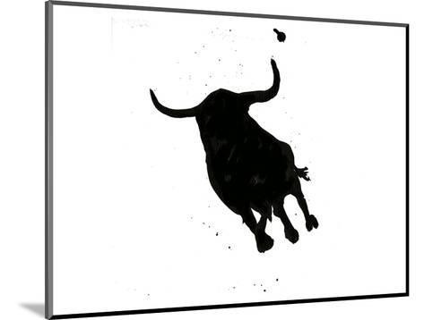 Pamplona Bull I-Rosa Mesa-Mounted Art Print