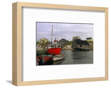 Peggy's Cove Harbour--Framed Art Print
