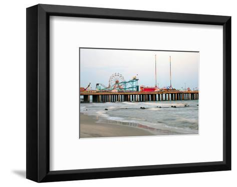 Steel Pier Atlantic City, NJ--Framed Art Print