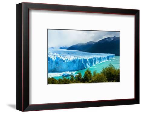 Perito Moreno GlacierPatagonia--Framed Art Print