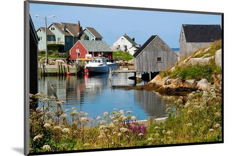 Peggy'S Cove Nova Scotia--Mounted Art Print