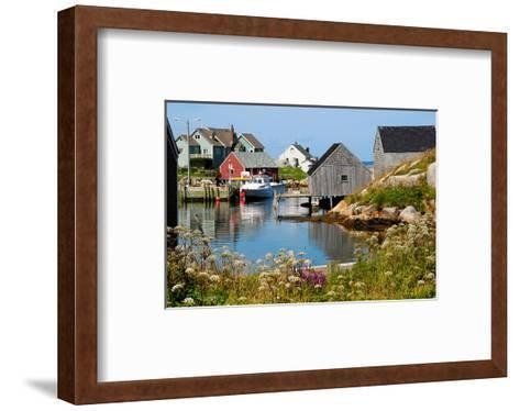 Peggy'S Cove Nova Scotia--Framed Art Print