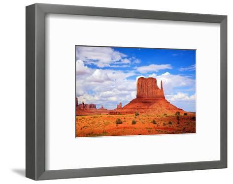Monument Valley West Thumb--Framed Art Print