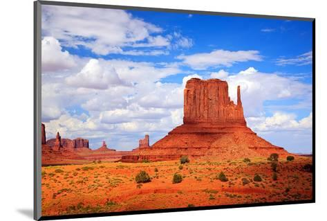 Monument Valley West Thumb--Mounted Art Print