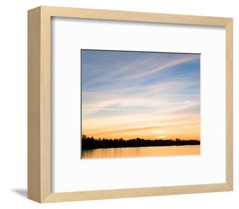 Sunset Last Rays--Framed Art Print