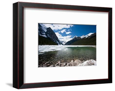 Lake Louise Canadian Rockies--Framed Art Print