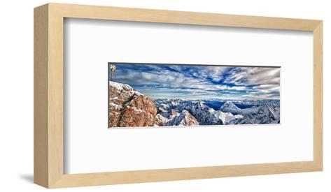 Zugspitze & Mountains Germany--Framed Art Print