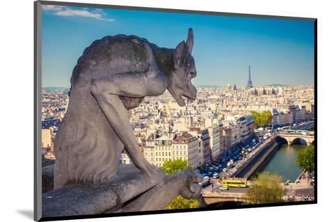 Chimera Notre Dame-Paris--Mounted Art Print