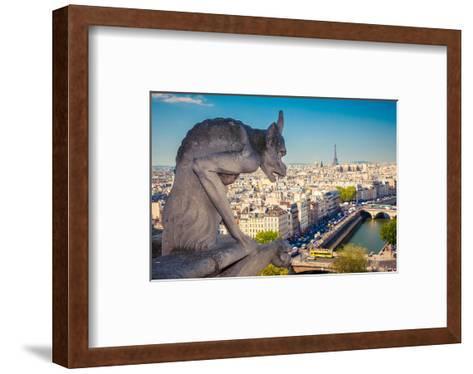 Chimera Notre Dame-Paris--Framed Art Print