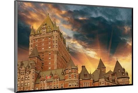 Chateau Frontenac Quebec City--Mounted Art Print