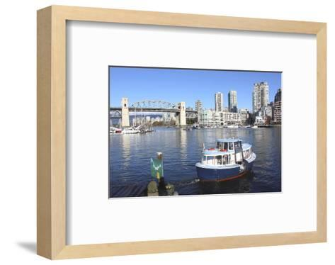 Vancouver's False Creek Ferry--Framed Art Print