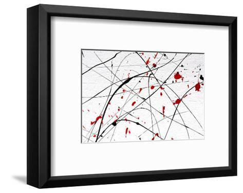 White Wall-Abstract Art Detail--Framed Art Print