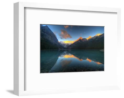 Mount Victoria Glacier Alberta--Framed Art Print
