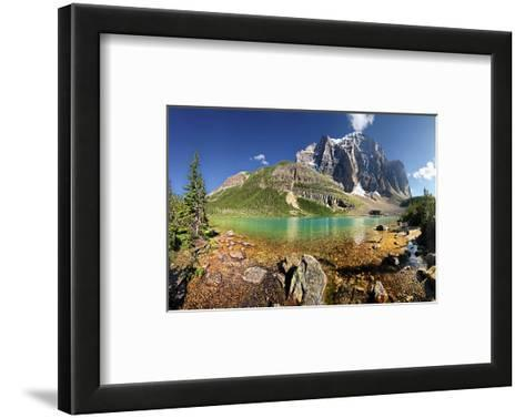 Mount Temple Paradise Valley--Framed Art Print