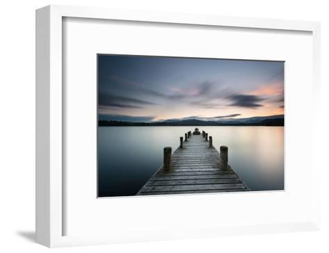 Ambleside Lake District Dusk--Framed Art Print