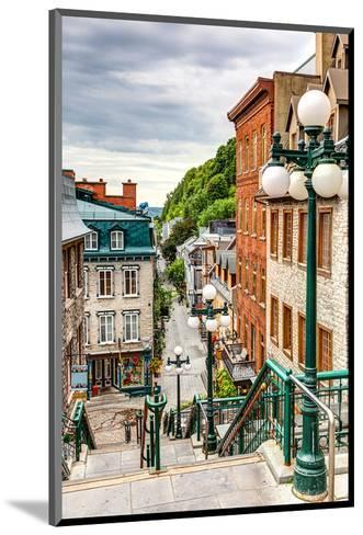 Historic District Old Quebec--Mounted Art Print