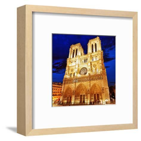 Notre Dame Cathedral Paris--Framed Art Print