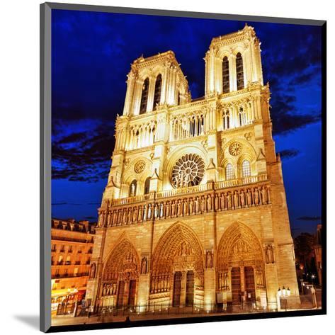 Notre Dame Cathedral Paris--Mounted Art Print