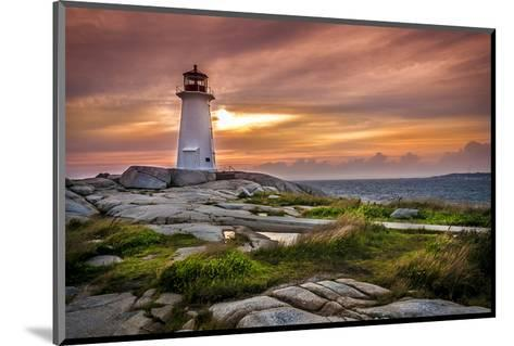 Peggy's Cove St. Margarets Bay--Mounted Art Print