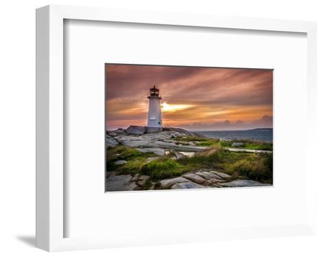 Peggy's Cove St. Margarets Bay--Framed Art Print