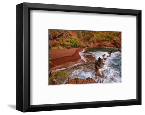 Kaihalulu Beach Maui Hawaii--Framed Art Print