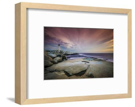 Peggy's Cove St. Margarets Bay--Framed Art Print