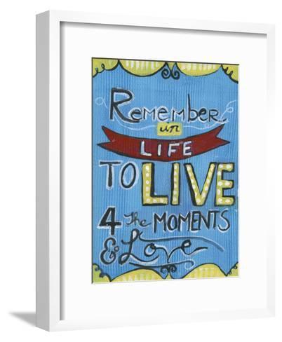 Remember In Life-Smith Haynes-Framed Art Print