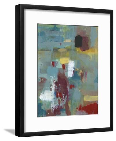 Crimson And Teal-Smith Haynes-Framed Art Print