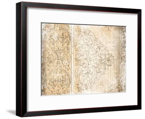 Vintage Pattern-Jace Grey-Framed Art Print