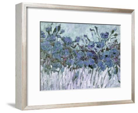 Field Of Blue-Kruk Kruk-Framed Art Print