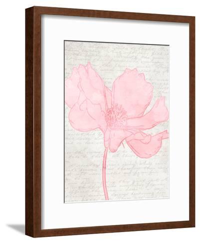 Watercolor Floral I-Taylor Greene-Framed Art Print